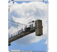 Crane counterweight iPad Case/Skin