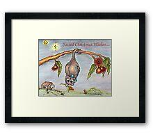Australian Nativity Framed Print