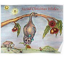 Australian Nativity Poster