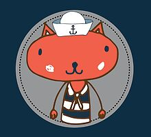 Nautical Adventures: Sailor Cat by Shai Coggins