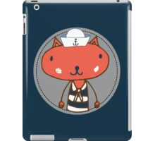 Nautical Adventures: Sailor Cat iPad Case/Skin