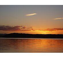 Lake Macquarie Sunset 1 Photographic Print