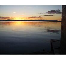 Lake Macquarie Sunset 2 Photographic Print