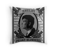 Thomas Shelby Peaky Blinders Throw Pillow