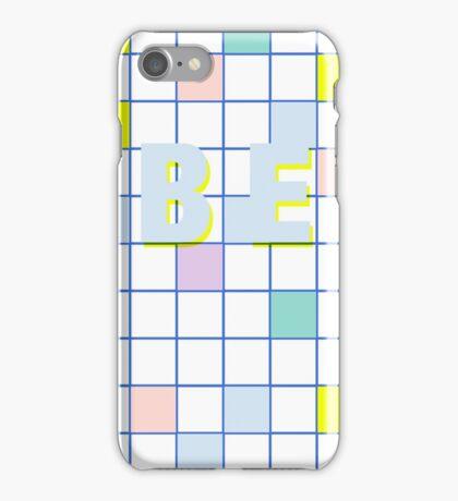 Be Windowpane check iPhone Case/Skin