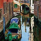 Reflections, Venice by Freda Surgenor