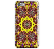 3D Abstract pattern, symmetrical 8 iPhone Case/Skin