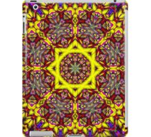 3D Abstract pattern, symmetrical 8 iPad Case/Skin