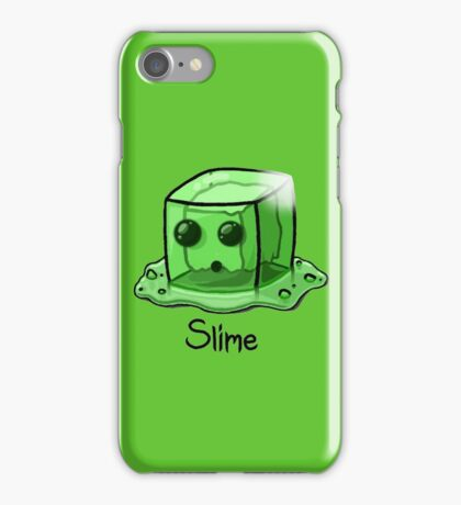 Slime Minecraft iPhone Case/Skin