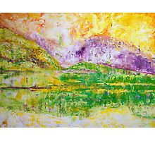 Sunlight in the Meadow Photographic Print