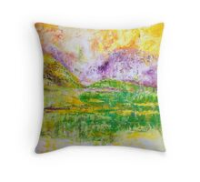 Sunlight in the Meadow Throw Pillow