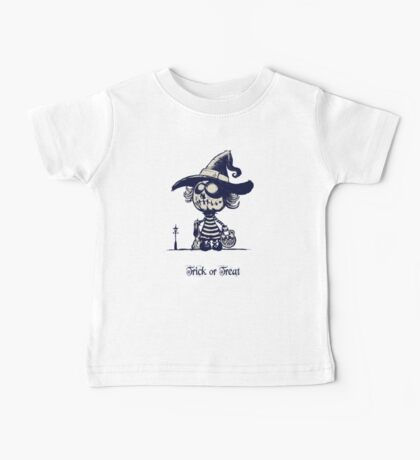 Trick or treat Baby Tee
