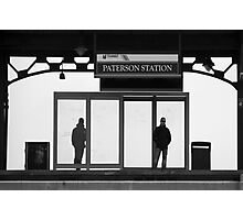 At the Station Photographic Print