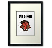 Mr Dixon Framed Print