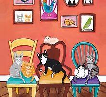 Heidi's Cats by Ryan Conners