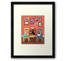 Heidi's Cats Framed Print