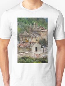old and abandoned cemetery Unisex T-Shirt