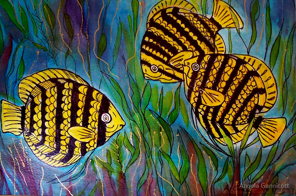 Fish 1 by Angela Gannicott