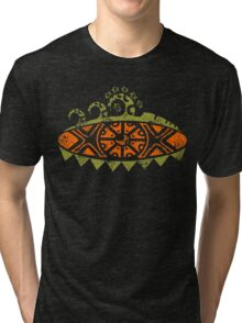 TRIBAL SURF Tri-blend T-Shirt