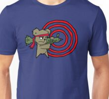 Teddy with a Rocket Launcher Unisex T-Shirt
