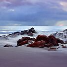 """Storm Brewing At Meelup Beach"" by Heather Thorning"