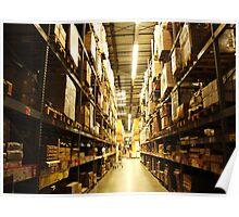 Ikea Warehouse Poster