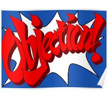 Objection Poster