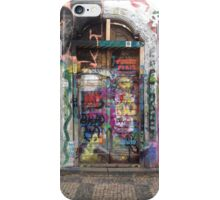 Graffiti Door iPhone Case/Skin