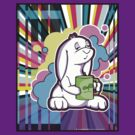 Psychedelic Sleepy Bunny  by purplesmoke17