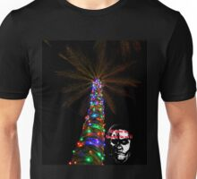 Christmas Palm Tree Unisex T-Shirt