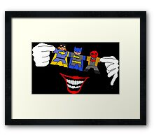 In madman's hands Framed Print