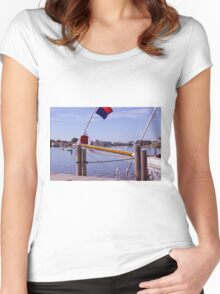 Late Summer Serenity Women's Fitted Scoop T-Shirt