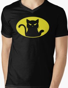 Catman Mens V-Neck T-Shirt