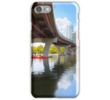August Summer at Lady Bird Lake in Austin Texas 1 iPhone Case/Skin