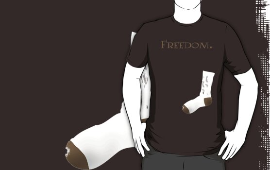 Freedom is an old sock. by MeteorMuse