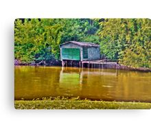 The Old Boathouse Metal Print
