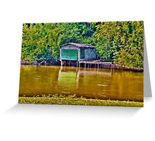 The Old Boathouse Greeting Card