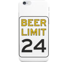 Beer Limit iPhone Case/Skin