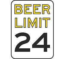 Beer Limit Photographic Print