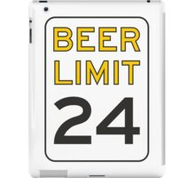Beer Limit iPad Case/Skin