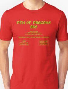 DEN OF DRAGONS BBS Unisex T-Shirt