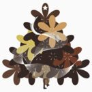 Christmas Tree T and sticker (1) by catherine bosman