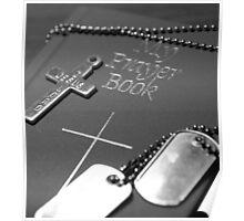Soldier's Never Ending Faith... Poster