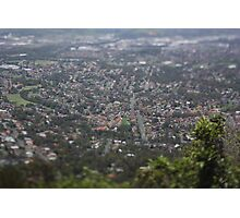 The small town of Woolongong Photographic Print