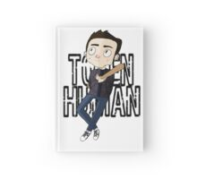 Token Human [Stiles Stilinski, The Bat-man] Hardcover Journal