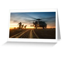 MH-60S Seahawk Helicopter Greeting Card