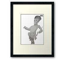 My Chemical Romance- Welcome to the black parade Skeleton Framed Print