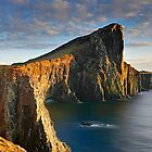 Evening sunset at Neist Point Isle of Skye Scotland by Martin Lawrence