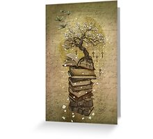 Knowledge is the key Greeting Card