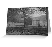 shed, near Grampians Greeting Card